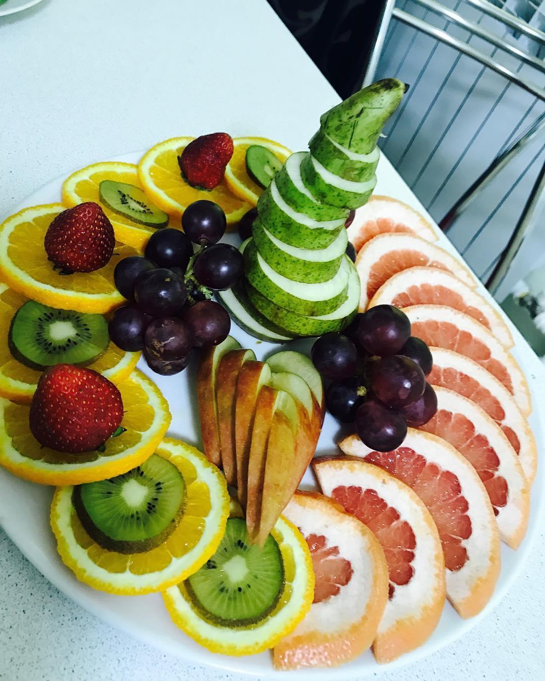 Каша из кураги + Художественная подача овощей и фруктов